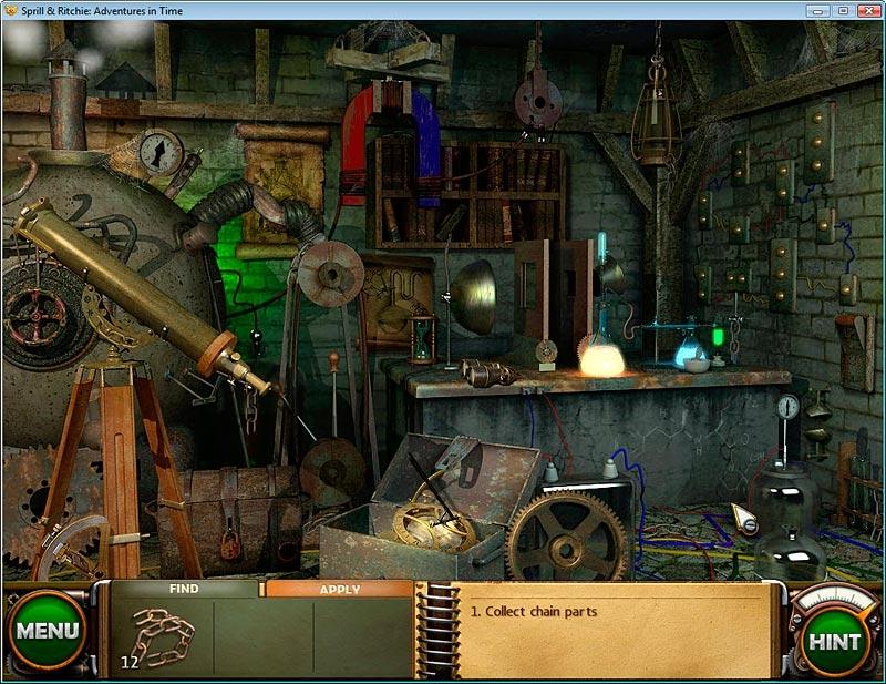 Скриншот 9 Добрые игры. Сприлл и Ричи. Приключения во времени игра