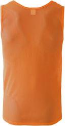 Манишка односторонняя (р. 52-54; оранжевая; арт. JBIB-1001) — фото, картинка — 2