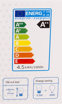 Светодиодная лампа V-TAC VT-245 4,5 ВТ, G45, Е27, 3000К, Samsung — фото, картинка — 4