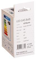 Светодиодная лампа V-TAC VT-245 4,5 ВТ, G45, Е27, 3000К, Samsung — фото, картинка — 5