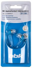 Наушники BBK EP-1190S (синие) — фото, картинка — 2