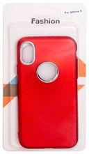 Чехол Biggo для iPhone X (красный) — фото, картинка — 1