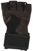 Перчатки атлетические SU-123 (XL; чёрные) — фото, картинка — 1