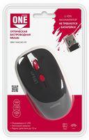 Мышь беспроводная с Li-Ion зарядкой от USB Smartbuy ONE 344CAG (черно-красная) — фото, картинка — 3