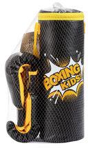 Набор для бокса детский (чёрный; арт. E1454) — фото, картинка — 1
