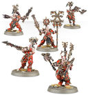 Warhammer Age of Sigmar. Khorne Bloodbound. Frenzied Goretribe (100-08) — фото, картинка — 3