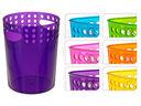 Ведро для мусора пластмассовое (190х165х240 мм) — фото, картинка — 2