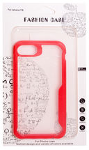 Чехол Biggo для iPhone 7/8 (красный) — фото, картинка — 1