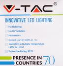 Светодиодная лампа V-TAC VT-2099 9 ВТ, А60, Е27, 4000К — фото, картинка — 3