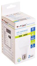 Светодиодная лампа V-TAC VT-2099 9 ВТ, А60, Е27, 4000К — фото, картинка — 7