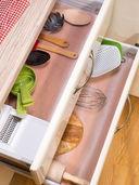 Коврик для сушки посуды (50х150 см; прозрачный) — фото, картинка — 1