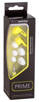Наушники Smartbuy Prime SBE-160 (желтые) — фото, картинка — 3