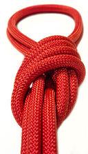 Скакалка для художественной гимнастики Pro 10101 (красная) — фото, картинка — 2