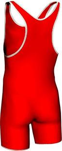 Трико борцовское MA-401 (р. 46; красное) — фото, картинка — 1