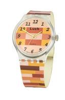 Часы наручные (коричнево-бежевые; арт. 724757155) — фото, картинка — 1